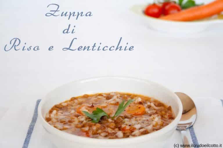 Zuppa di Riso e Lenticchie