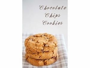 Chocolate Chips Cookies, croccanti e friabili!