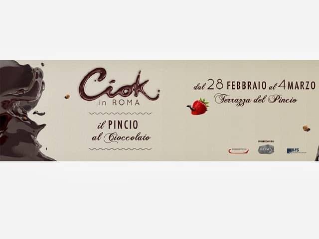 Roma capitale del cioccolato: torna Ciok in Roma!