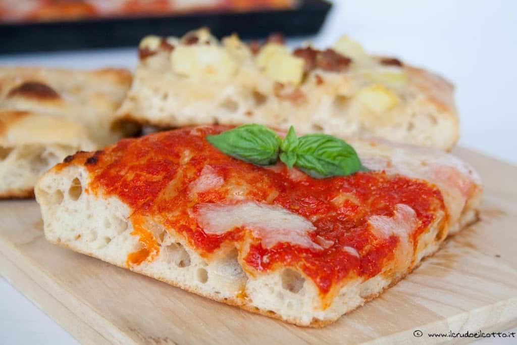 Ricetta pasta per pizza con birra