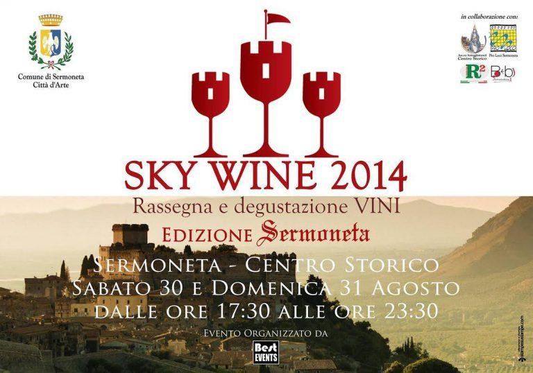 Sermoneta Sky Wine 2014, con il mio cooking-show!